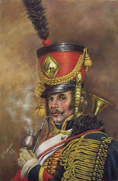 French; 4th Hussars Trumpeter.