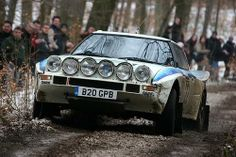 Mazda RX7 rally car