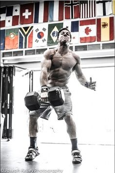 Noah Ohlsen, a rookie at the Crossfit Games had been nothing short of impressive!