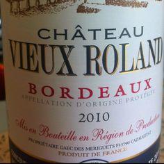 Château Vieux Roland 2010