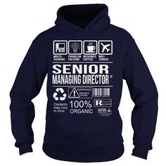 Awesome Tee For Senior Managing Director - #pink tee #tshirt customizada. LIMITED TIME PRICE => https://www.sunfrog.com/LifeStyle/Awesome-Tee-For-Senior-Managing-Director-Navy-Blue-Hoodie.html?68278