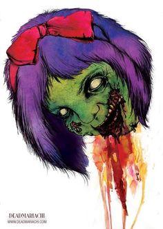 Zombie Child.    DeadMariachi Creative    -Jose Delgado    http://www.facebook.com/pages/Dead-Mariachi/160350503989279