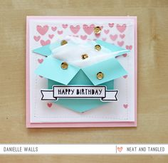 Celebrating Emily Leiphart Video Blog Hop!  - Products and inspiration from Neat And Tangled: http://neatandtangled.blogspot.com/