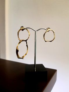 #kolczyki #asymetria #srebro #design #biżuteriaartystyczna #margotstudio