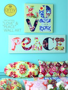 Very cute -- has the Vera Bradley look. Modern Sewing Projects, Fabric Wall cff1f59f04