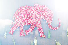 """""""I'll be nursing her and she'll look up and start talking to the elephant. It's nice when they start to notice the things you've done."""" —Zoë Buckman  http://www.theglow.com/zoe-buckman/?i#1"""