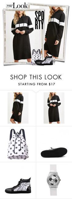 """""""Sporty Look"""" by nansg ❤ liked on Polyvore featuring moda y beautifulhalo"""