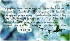 Cherry Girl by Raine Miller