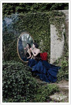 Fairy Tale Wedding Blue Dress Tara La Tour