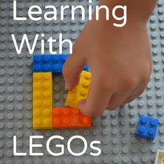 Learning with Legos: lego math games and activities practicing patterns and logic