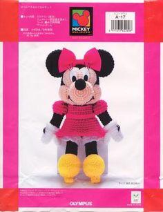 Patron Amigurumi Baby Minnie : 1000+ images about patrones de amigurumi japoneses on ...
