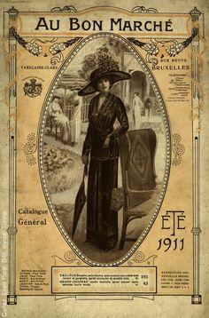 Au Bon Marche 1911 Catalogue