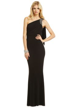 Badgley Mischka Miss Mysterious Gown