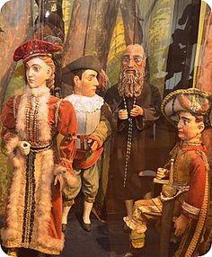 Muzeum ,, Svět loutek ,, v Týně nad Vltavou. Loutky Tomáše Dubského /1874 –…