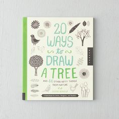 """Find inspiration for natural sketches in this cheerful volume for budding artists, filled with tips on drawing a forest full of trees. - 96 pages- Paperback- Quarry Books10""""H, 8.5""""W, 0.3""""D"""