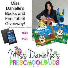 Enter to win a set of Miss Danielle's Books and a Fire Tablet in this brand new literary giveaway. Ends 11/21 #Giveaway #KindleFire
