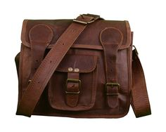 Shaista Handicraft Messenger Office Genuine Leather Laptop Briefcase Messenger Satchel Bag * More info could be found at the image url. (This is an Amazon Affiliate link and I receive a commission for the sales)