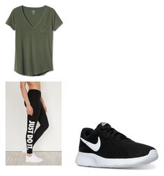 """""""Amanda Gregory Outfit"""" by jennyestrella on Polyvore featuring Gap and NIKE"""