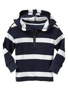 Striped waffle pullover | Gap