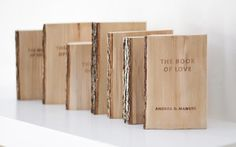 The Book of Love – available in many different sizes. Shop now, worldwide shipping: www.bordon-design.de