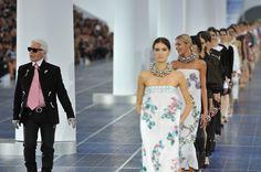 Karl Lagerfeld Pictures - Chanel: Runway - Paris Fashion Week Womenswear Spring / Summer 2013 - Zimbio