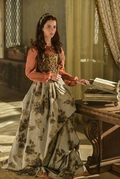 Love this dress from Reign