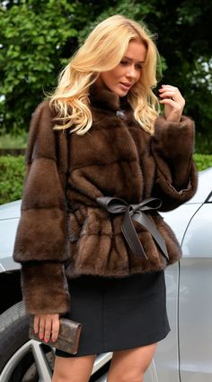 2015 GIANOTTI SABLE COLOR ROYAL SAGA MINK FUR JACKET CLASS- CHINCHILLA COAT VEST #MARCOGIANOTTIMILANO #OtherJackets