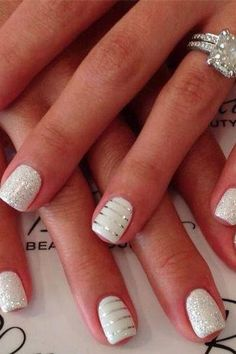 Let's Show You Fifteen Awesome Manicure Ideas For Your Wedding 3