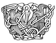 sutton hoo helmet plates technical drawing - Google Search