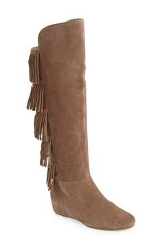 Isolá Isolà 'Tavora' Fringe Tall Boot (Women) available at #Nordstrom