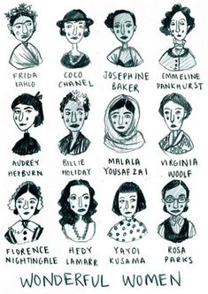 50 Best Strong Women Quotes In Celebration Of Women's History Month All of these women kicked ass and took names. Let their histories inspire you to change your life and the lives of others. Fuchs Illustration, Feminist Af, Feminist Quotes, Feminist Icons, Frida Kahlo Feminist, Equality Quotes, Who Runs The World, Intersectional Feminism, Strong Women Quotes