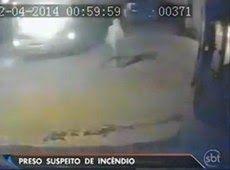 Galdino Saquarema Noticia: Câmera flagra suspeito colocando fogo em ônibus em Osasco...
