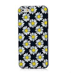 Gerbera Pattern Hard Case for iPhone 4/4S