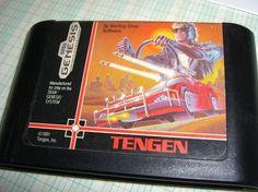 Vintage Roadblasters Road Blasters game for Sega Genesis Excellent