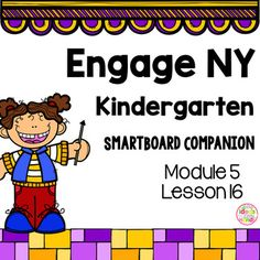 This is a SmartBoard activity that directly correlates with the Kindergarten Engage NY Math Module 5 Lesson 16 (Count within tens by ones). This lesson includes activities and games for the lessonCheck out the Module 5 bundle hereModule 5 BundleWant to try a lesson for FREE before you buy?