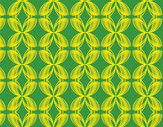 """i -pattern-2015-11"" design by YM. material: Japanese emblem ""mokkou"".  redesigning it."