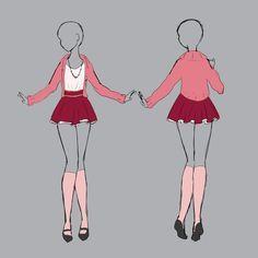 Resultado de imagen para futuristic outfits anime