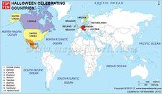 Top Ten Halloween Celebrating Countries