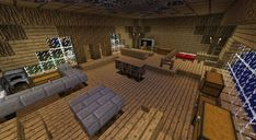 minecraft houses inside