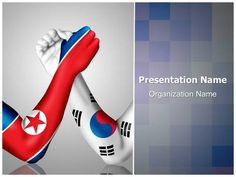 Download editabletemplates.com's premium and cost-effective North and #South Korea editable…