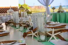 Beautiful choice in color for this beach wedding at the Henderson Park Inn.