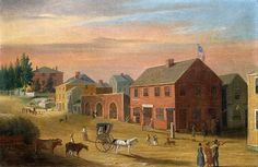 Four Corners 1807 by William Allen Wall Bedford Massachusetts, New Jerusalem, New Bedford, 50 Years Ago, Dartmouth, Four Corners, Local History, Nova Scotia, Far Away
