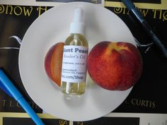 Giant Peach (Reader's Oil) by VoloPress on Etsy