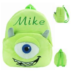 Adorable Super Plush Soft Cartoon Character Children's Backpack 16 Characters