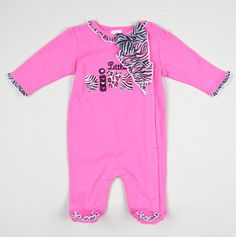 NB Little Diva Novelty Footies - Take Me Home Sets for Baby Girl - Events