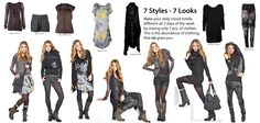 Nü by staff: 7 Styles - 7 Looks Queens, Style Me, Fashion Beauty, How To Wear, Accessories, Women, Ornament