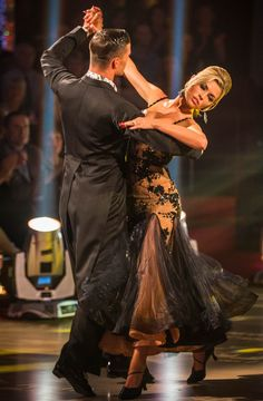 Abbey Clancy and Aljaz Skorjanec - Strictly Come Dancing 2013 - Week 5