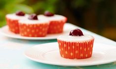 Retro treat: These Cherry Bakewells will be the icing on the cake for afternoon tea © Woodlands Books Muffin Recipes, Cake Recipes, Bakewell Tart, Great British Bake Off, Home Baking, Afternoon Tea, Sweet Recipes, Sweet Tooth, Sweet Treats