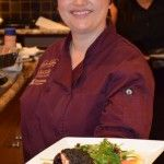 Black Sesame Crusted Salmon with a Citrus Garden Salad / Chef Rachelle Boucher