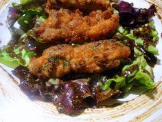 Crujientes de pollo con jengibre y lombarda - El Aderezo - Blog de Recetas de Cocina